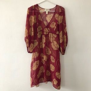 Anthropologie Moulinette Soeurs Empire Waist Dress